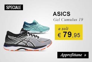 Scarpe running Asics Gel Cumulus 19 a soli € 79,95