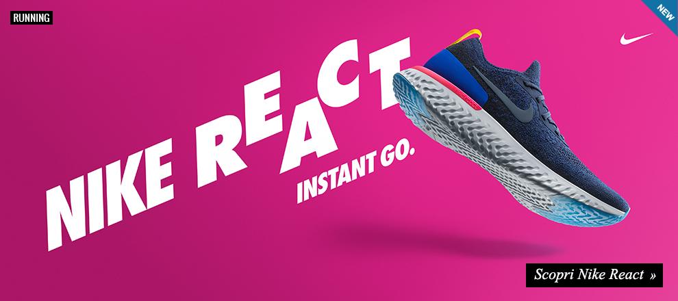 Nuova Nike React