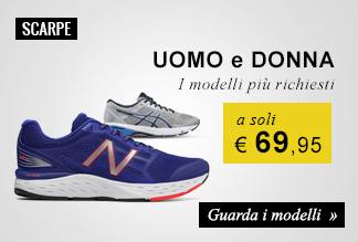 scarpe running: i modelli più richiesti