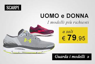 scarpe running: i modelli più richiesti a soli 79,95