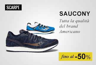 scarpe running Saucony fino al-50%