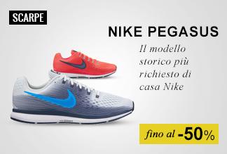 scarpe running nike pegasus fino al-50%