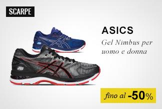 Scarpe running Asics Nimbus fino -50%
