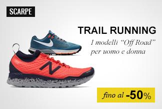 Scarpe trail running fino a -50%