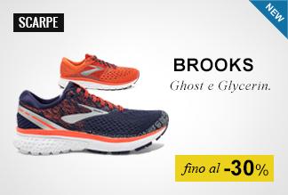 Brooks Ghoost e Glycerin fino al -30%