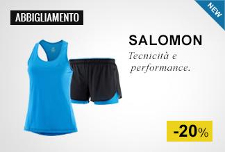 Salomon abbigliamento running -20%