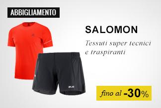 Abbigliamento Salomon Running fino a -30%