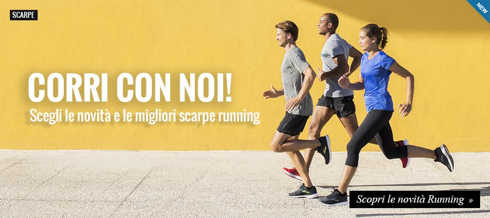 Novità running, corri con noi