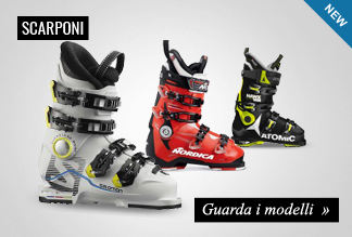 Nuova collezione scarponi sci 2016/17