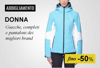 Maxi Saldi Abbigliamento sci Donna fino -50%