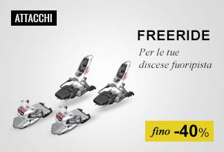 Attacchi sci Freeride fino -40%