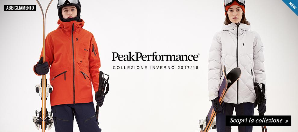 Collezione Abbigliamento Sci Peak Performance