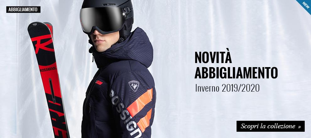 Nuova collezione abbigliamento sci