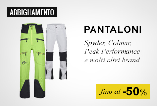 pantaloni fino al -50%