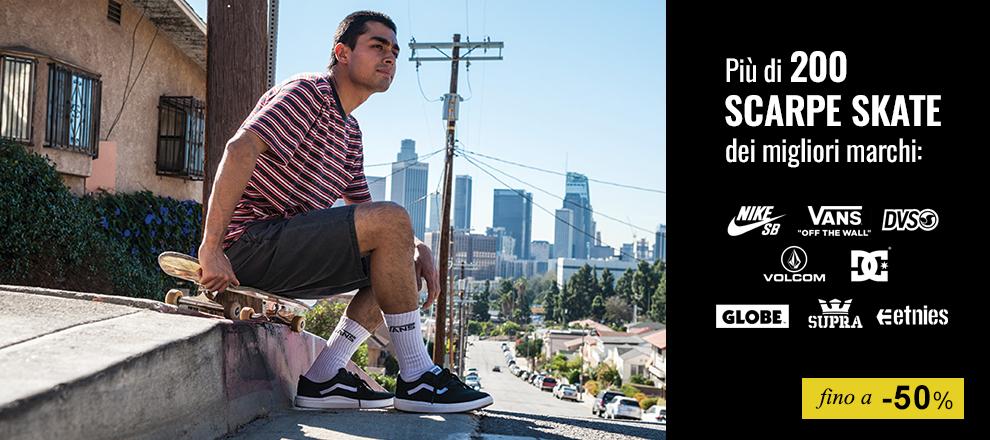 Sneaker Skate in promozione fino al -50%