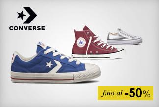 Sneaker Converse fino al -50%