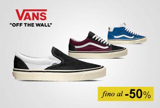 Sneaker Vans fino al -50%