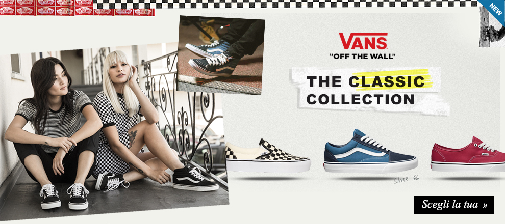 Nuova collezione Sneaker Vans