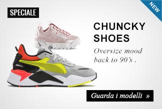 Sneaker Chunky Shoes uomo e donna
