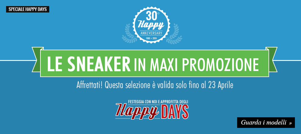 Sneaker in Maxi Promozione