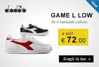 Diadora Game Low a soli € 72,00