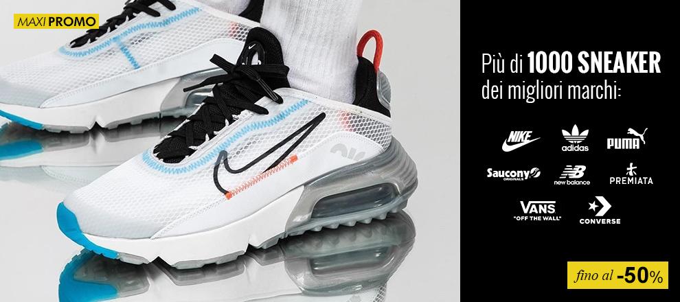 Sneaker in Maxi Prtomozione fino al -50%
