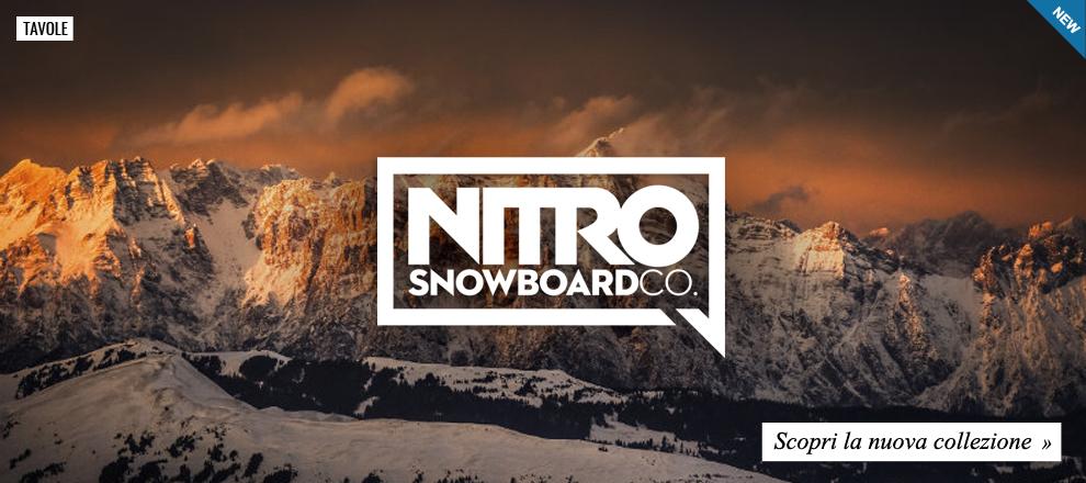 Nuova Collezione Nitro Snowboards 2016 / 2017