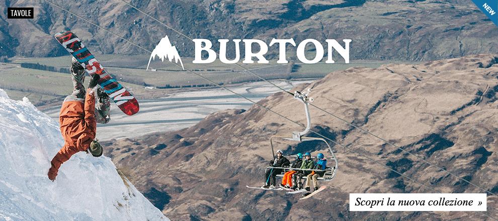 Nuova Collezione Burton Snowboards 2016 / 2017