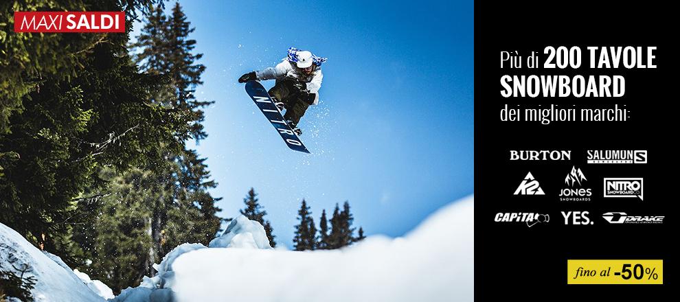Nuove collezioni tavole Snowboard