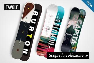 Novità Tavole Snowboard