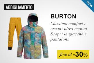 Abbigliamento Snowboard Burton fino a -30%