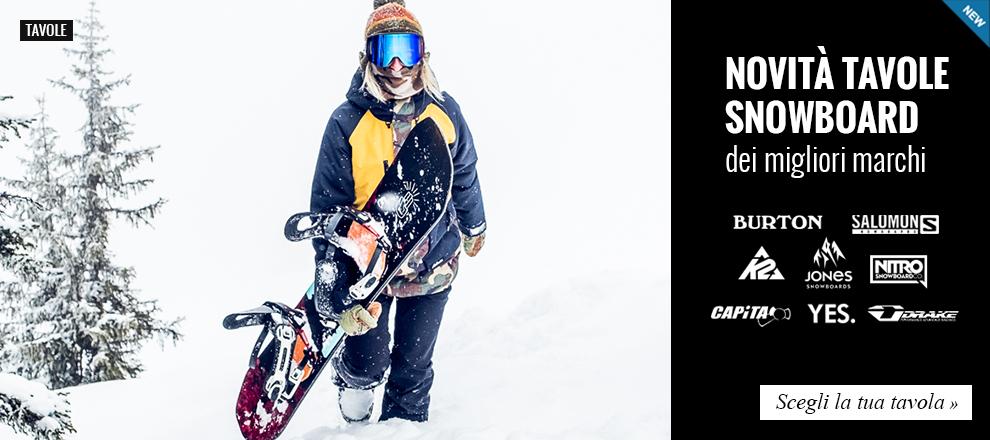 Le novità Tavole Snowboard più attese