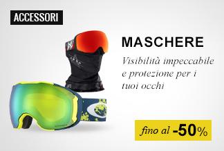 maschere snowboard fino a -50%