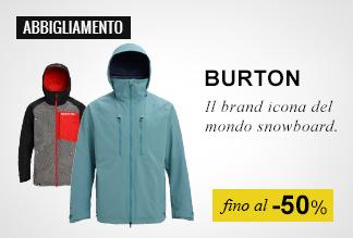 Abbigliamento Burton