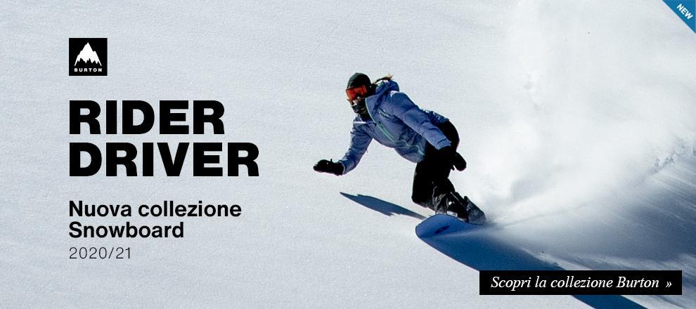 Anteprima tavole Burton snowboard 2020/21