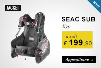 Jacket Seac Sub Ego a soli 199,95 euro