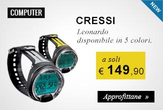 Computer Cressi Leonardo a soli 149,90 euro