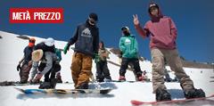 Lo Snowboard a Metà Prezzo