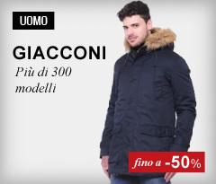 Maxi Saldi Giacconi Uomo