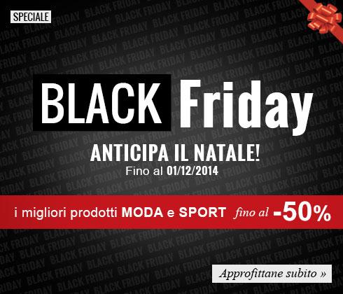 Black Friday su maxisport.com: scopri le promozioni fino a -50%