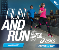 Nuova collezione running Asics Muscle Support