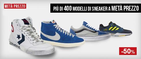 Sneaker a Metà Prezzo