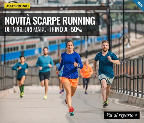 Corri con noi! Nuova collezione Running 2015