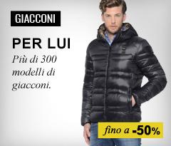 Maxi Saldi Giacconi uomo 2015/2016