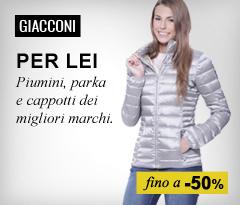 Maxi Saldi Giacconi donna 2015/2016