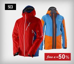 Abbigliamento sci fino a -50%