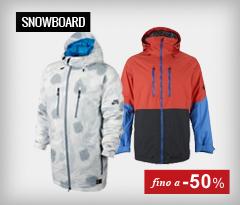 Abbigliamento Snowboard fino a -50%