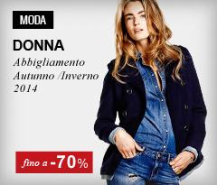Abbigliamento moda donna fino al -70%