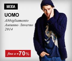 Abbigliamento moda uomo fino al -70%