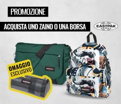 Promozione Eastpak: acquista uno zaino o una borsa per te un astuccio in omaggio
